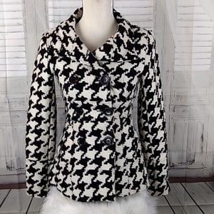 LAST KISS HOUNDS TOOTH JACKET